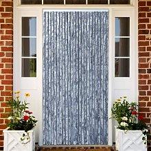 Zqyrlar - Insect Curtain Silver 90x220 cm Chenille