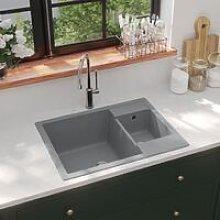 Zqyrlar - Kitchen Sink with Overflow Hole Double