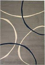 Zqyrlar - Modern Rug Circle Design 160x230 cm Grey