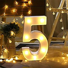 Zqyrlar - Number Lights, Sign Light Up Number