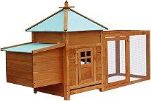 Zqyrlar - Outdoor Chicken Coop - Brown