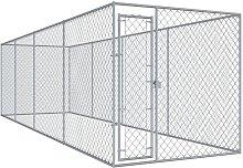 Zqyrlar - Outdoor Dog Kennel 760x192x185 cm -