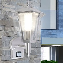 Zqyrlar - Outdoor Uplight Wall Lantern with Sensor