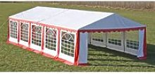 Zqyrlar - Party Tent 10 x 5 m Red - Red