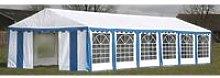Zqyrlar - Party Tent 12 x 6 m Blue - Blue