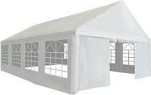 Zqyrlar - Party Tent PE 5x8 m White - White