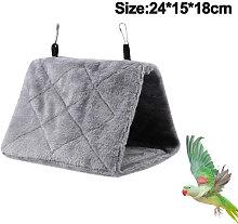 Zqyrlar - Peony Parrot Hammock Bird Nest Warm Soft