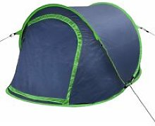 Zqyrlar - Pop-up Camping Tent 2 Persons Navy Blue