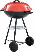 Zqyrlar - Portable XXL Charcoal Kettle BBQ Grill