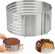 Zqyrlar - Ring Cutter Layer Cake Slicer,