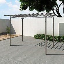 Zqyrlar - Rose Arch Garden Arbor Steel Garden