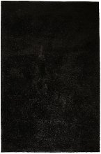 Zqyrlar - Shaggy Area Rug 160x230 cm Black - Black