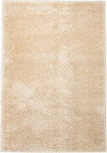 Zqyrlar - Shaggy Area Rug 80x150 cm Beige - Beige