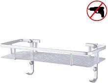 Zqyrlar - Single Tier Shower Basket Shelf with