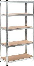 Zqyrlar - Storage Shelf Garage Storage Organizer -