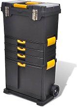 Zqyrlar - Tool Case Chest Tool Trolley Portable -