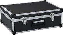 Zqyrlar - Tool Suitcase 46x33x16 cm Black