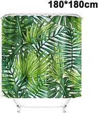 Zqyrlar - Tropical Shower Curtain, Banana Green