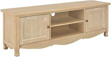 Zqyrlar - TV Cabinet 120x30x40 cm Wood - Brown