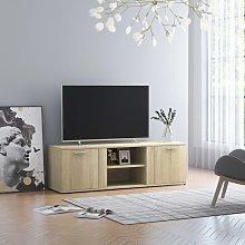 Zqyrlar - TV Cabinet Sonoma Oak 120x34x37 cm