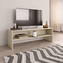 Zqyrlar - TV Cabinet Sonoma Oak 120x40x40 cm