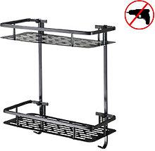 Zqyrlar - Two Tier Shower Basket Shelf with