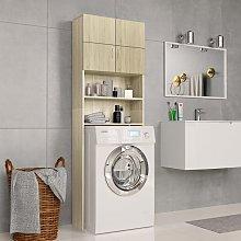 Zqyrlar - Washing Machine Cabinet Sonoma Oak