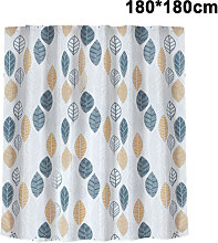 Zqyrlar - Waterproof Thick Polyester Shower