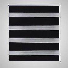 Zqyrlar - Zebra Blind 140 x 175 cm Black - Black