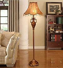 ZRABCD European-Style Resin Floor Lamp Living Room