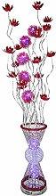 ZRABCD Flower Vase Table Floor Lamp Large - Modern
