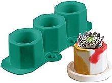 ZREAL Plant Molds, 3 Pcs Flower Pot Moulds for