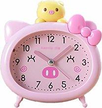ZRJ Exquisite Kids Alarm Clock Plastic Case Analog