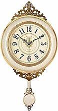 ZRL Quartz Clock Retro Modern Wall Clock Ceramics