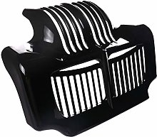 ZRNG Motorcycle Stock Gloss Black Oil Cooler Cover