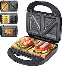 ZRSDIXKI Deep Fill Sandwich Toastie Waffle Maker 3