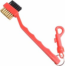 zrshygs 2 Sided Golf Brush Shoe Plastic Cleaning