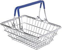 zrshygs Mini Supermarket Shopping Hand Basket Kids