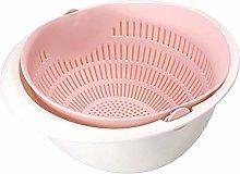 ZRWJBF Kitchen Drain Basket Bowl Rice Washing