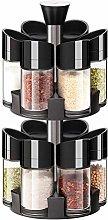 Zsail 12-Jar Revolving Countertop Spice Rack
