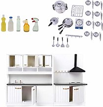 ZSMD 1/12 Dollhouse Cabinet Model Cleaning Kit