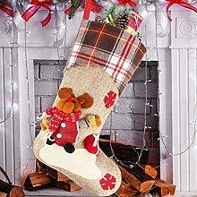 ZSWQ Christmas Stocking Xmas Hanging