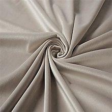 ZSYGFS 146 Cm Wide Soft Thicker Velvet Fabric