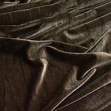 ZSYGFS 150 Cm Wide Soft Thicker Velvet Fabric