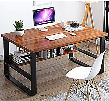 ZTMN Computer Desk Wooden Simple Desk Study Desk
