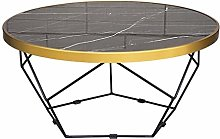 ZTMN Modern Coffee Table Desk Stand Round Accent