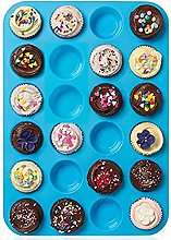 ZTSY 24 Cavity Mini Muffin Cup Silicone Cookies