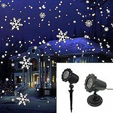 ZTTTD Christmas Snowflake Projector Lights LED