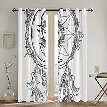 ZUL Blackout Curtains,Butterflies With Paisley
