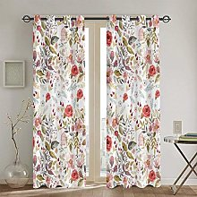 ZUL Blackout Curtains,City With Old Books Style